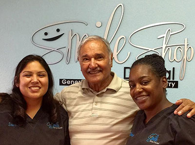 Smile Shop Dental Team with a Patient